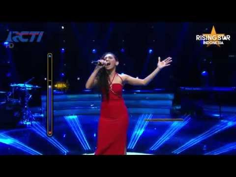 "Loura Haumahu ""Halo"" Beyonce - Rising Star Indonesia Live Audition Eps 4"