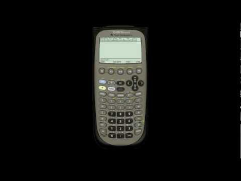 Solving Systems of Equations on the TI-89
