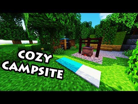 Minecraft Tutorial #36 - How to Build a Cozy Campsite (HD)