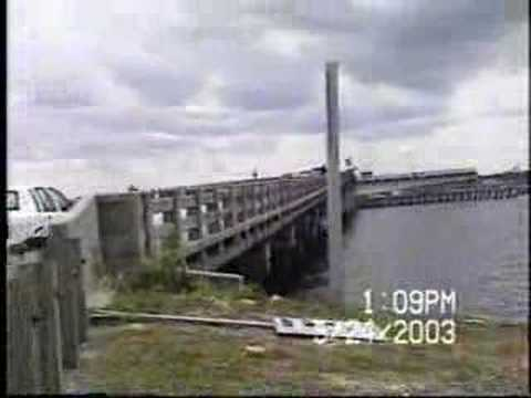 Old Titusville Swing Bridge - Titusville, Florida 2003