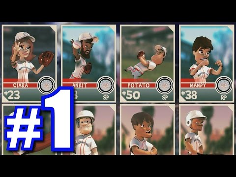 SOFTBALL CREW IN A VIDEO GAME! | SUPER MEGA BASEBALL #1