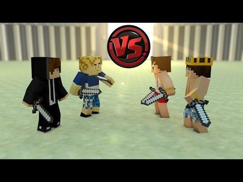 2  VS 2 - Survival Games | DoctorBurak-Gereksiz vs BugraaK-Wolvoroth
