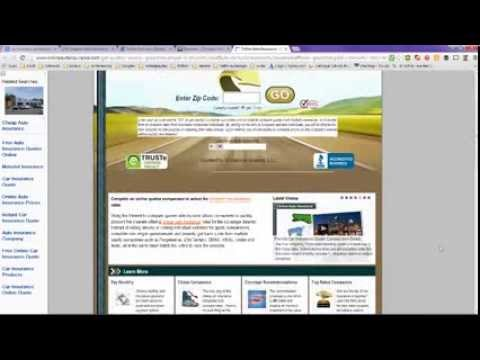 Car Insurance Quote   Compare Rates Online