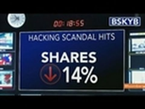 BSkyB Drawn Into Spotlight by News Corp. Hacking Scandal