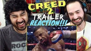 CREED II - Official TRAILER REACTION & REVIEW!!!