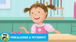 PINKALICIOUS & PETERRIFIC | Pinkalicious Makes Her Own Shoes | PBS KIDS