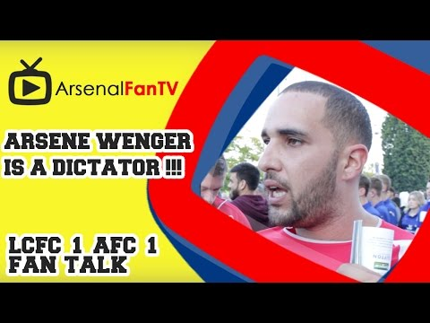 Arsene Wenger Is A Dictator !!! - Leicester City 1 Arsenal 1