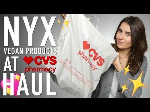NYX Cruelty-Free Vegan Products At CVS Haul - Logical Harmony