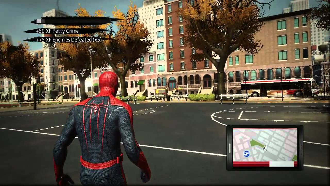 Free Roam The Amazing Spider Man Developer Diary Video