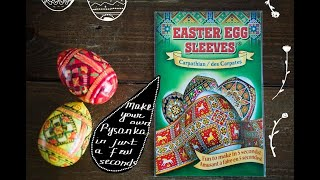 Easter Egg Sleeves Egg Decorating - Egg Shrink Wraps