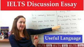 IELTS Discussion Essay: Useful Academic Expressions