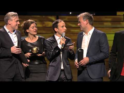 Adam & Eva Award 2013 - Gold + Silber - Union Investment + Google - Corporate Event