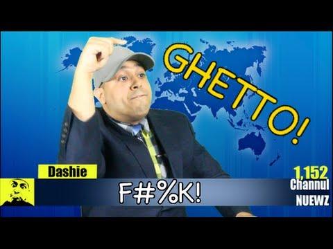 GHETTO NEWS ANCHOR!