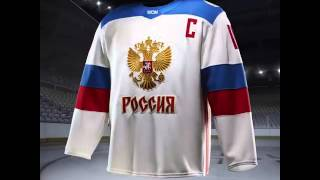World Cup of Hockey 2016 Team Russia Jersey Reveal