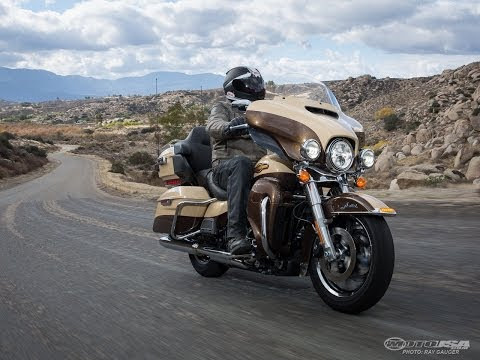 2014 Harley-Davidson Ultra Limited - V-Twin Touring Part 3 - MotoUSA