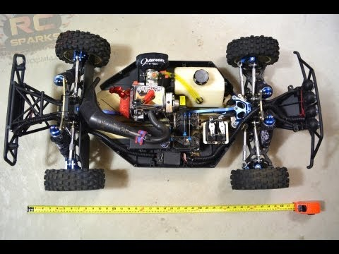 "RC ADVENTURES - 3 1/2 FOOT TRUCK! PROJECT: ""LARGE"" - Modded Losi 5ive T 4x4 Short Course Truck"