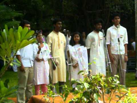 Janmakaarini Bhaaratham - Malayalam Group Song At Iit Madras During Indepedence Day 2011 .mov video