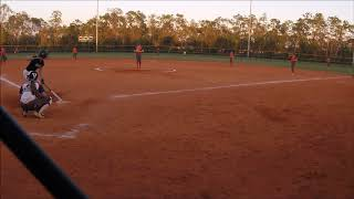 Ashley Garrison 2021- Nice hit off 2019 SEC Commit