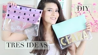DIY - CREA TU COSMETIQUERA - NECESER  | Fashion Riot