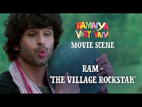 Ram - The Village Rockstar  - Ramaiya Vastavaiya Scene - Girish...