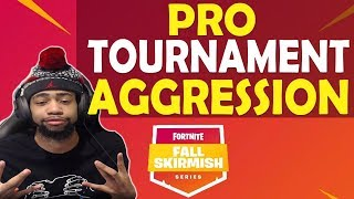 DAEQUAN MOST KILLS FALL SKIRMISH PRO AGGRESSION MATCH | FUNNY GAME WEEK 2 - (Fortnite Battle Royale)