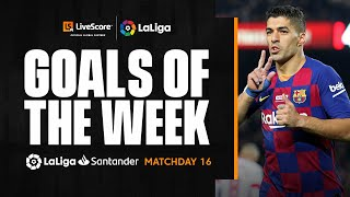 Goals of the Week: Incredible Suarez backheel on MD16