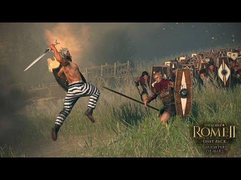 Rome 2 Total War | 1 vs 1 Egipto vs Bactria