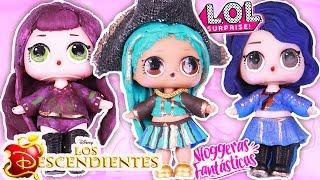 Los DESCENDIENTES 2 Transformación de LOL Sorpresa de Descendents! - Vloggeras Fantásticas