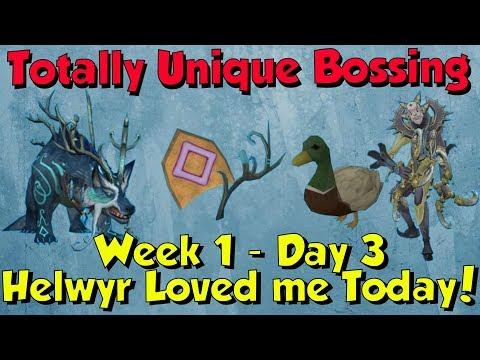 Week 1, Day 3 - Helwyr so OP! [Runescape 3] Totally Unique Bossing #3