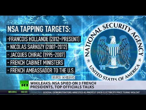 'Espionnage Élysée': NSA spied on last 3 French presidents - WikiLeaks