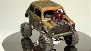 Custom Hot Wheels Mad Max Mini Monster Truck