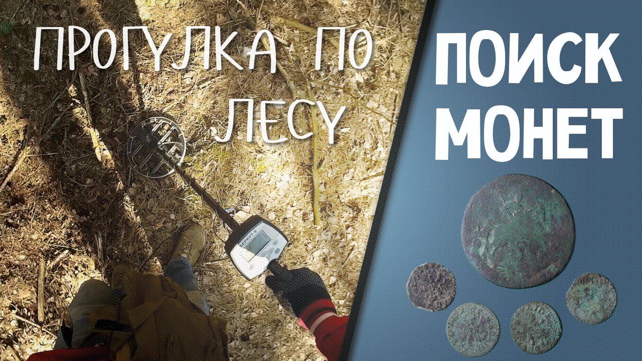 Поиск монет. ПРОГУЛКА ПО ЛЕСУ (10.04.2015)