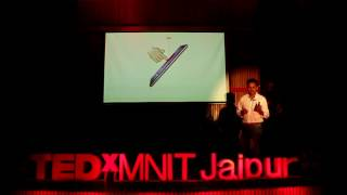 Technology Reinventing Business   Rituraj Singh   TEDxMNITJaipur