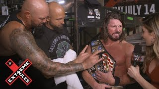 AJ Styles revels in his United States Championship victory: WWE Exclusive, July 14, 2019