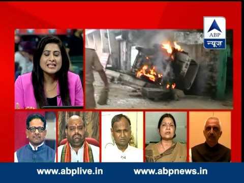 ABP News debate:  CM Akhilesh Yadav unable to control Uttar Pradesh?