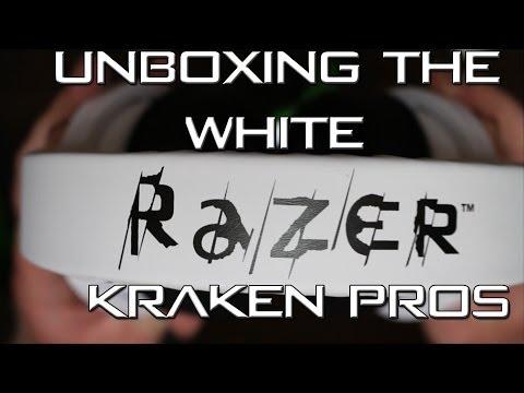 The White Razer Kraken Pro Unboxing! - Nevada BoB