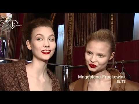 Karlie Kloss Talks - First Face Countdown Fall 2010 | FashionTV - FTV