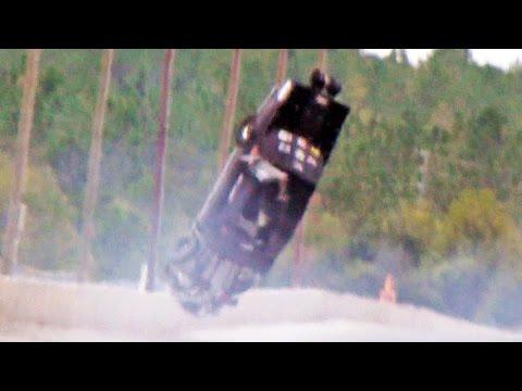 HUGE CRASH AT NO MERCY 7 - MARTY STINNETT PRO DRAG RADIAL MUSTANG!