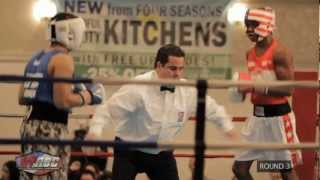 TYRONE JAMES VS PETER DOBSON 152 OPEN NYABC TITLE FIGHT 11/30/12