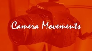 Camera Movements - Canon EOS T3i 600D b/n Test