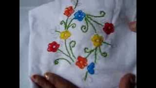Button Hole Stitch - Hand Embroidery Tutorials