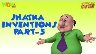 Doctor Jhatka's invention - Motu Patlu Compilation - Part 5 As seen on Nickelodeon