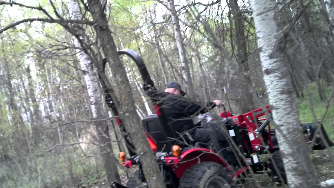 Dad S Toy Mahindra Tractor Removing A Big Rock Youtube