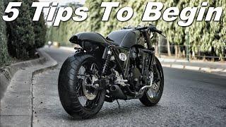 Cafe Racer (5 Tips to begin your Cafe Racer Design)
