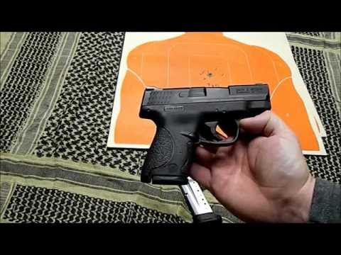 Smith and Wesson M&P 9 Shield Range Report by Glasgow