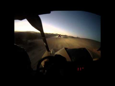 10 quick minutes in the new 2013 Can-Am Maverick  at Glamis
