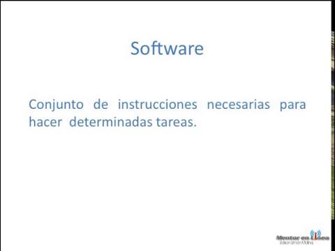 Definición de Hardware y Sotware?
