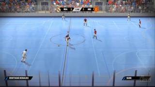 FIFA Street Real Madrid VS Manchester United