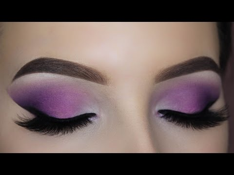 Smokey Purple Eye Makeup Tutorial (Matte)