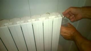 Termosifoni freddi - Manovra di sfiato dell'aria in 3 mosse